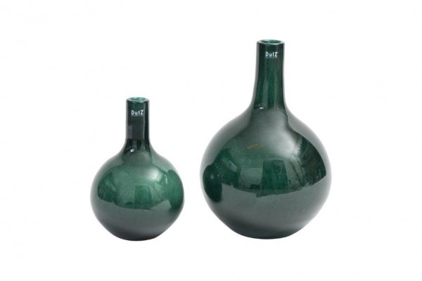 DutZ Bottle - Darkgreen Bubbles